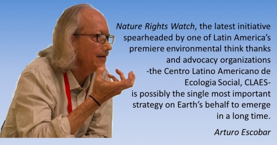 NRW: possibly the single most important strategy on Earth's behalf – Arturo Escobar